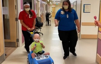 Two little boys can now go home after receiving new hearts