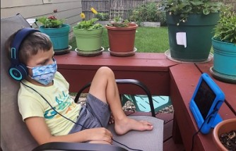 Dad shared how he got son to wear face mask