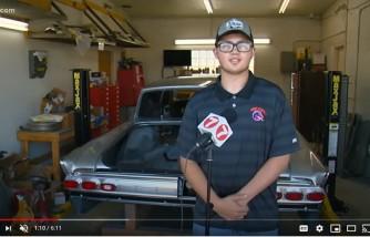 Volunteers Help Teen Who Has Inoperable Brain Tumor Restore Classic Car