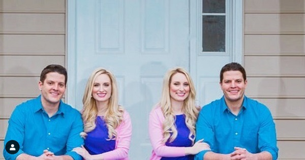 Seeing Double: Identical Twin Sisters Who Married Identical Twin Brothers Are Both Pregnant