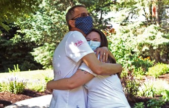 Army Veteran's Stepdaughter Donates Part of Her Liver to Stepdad