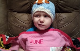 4-year-old tennessee girl, terminal brain cancer