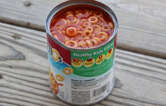 SpaghettiOs for child with autism