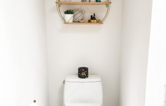 how to unclog a toilet, without using plunger