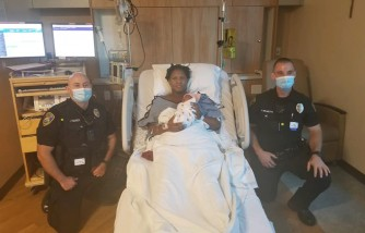 Mom Gave Birth at Stockton Police Parking Lot, 2 Officers Helped Deliver Baby