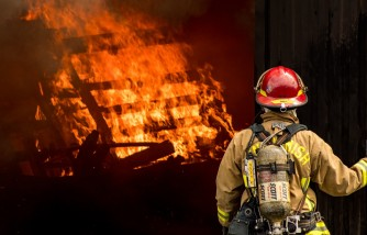 california firefighter, saves girlfriend's family's home, completing 60-hour shift