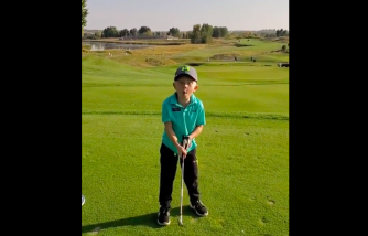 Viral Video: Young Golfer Swing Perfectly to Hit a Hole in One [He Is Only 5 Years Old!]
