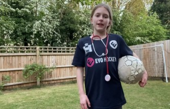 Girl Juggles Soccer Ball More Than 1 Million Times to Honor Essential Workers Raise Money for Charity