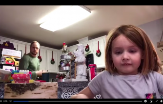 Viral Video: Dad Has Zero Idea He Was Dancing in the Background for His Daughter's Schoolwork