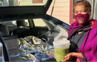 grandmother delivers 800 tamales to frontliners, after recovering from COVID-19, grandmother gives tamales to frontliners, grandmother recovers from COVID-19