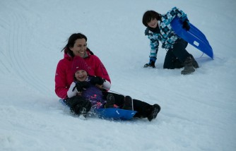 kids sledding injuries make up 70% of accidents, 9-year study proves, kids more prone to accidents than adults,