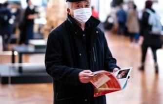 elderly wearing face mask