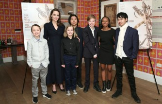Angelina Jolie Treats Pax to a Mother-Son Dinner Date in Los Angeles