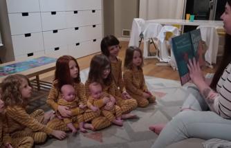 Chloe Dunstan, mom of 8 shares night routine