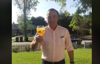 Viral Videos: Dad Sneaks Drinks to His Quarantined Daughter