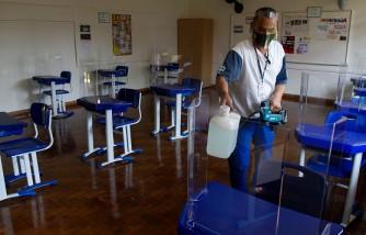 Santa Maria School Adopts Preventive Measures Against the Coronavirus as Classes Resume (COVID - 19) Amidst the Pandemic