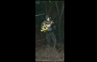 Baby Rescued from the River After Being Thrown by Smugglers