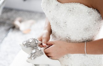 Bride Chooses to Wear Wedding Dress During Vaccination [Her Wedding Reception Was Cancelled]