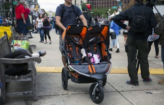 Seats On Wheels For The Twins: Double Stroller