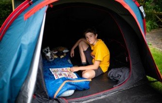 Why Boy in Tent in London Zoo Pledges to Keep Sleeping Outdoors
