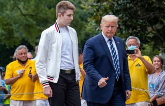Barron Trump Becomes Part of Class of 2024 at Palm Beach Private School