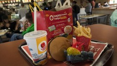 McDonald's to Phase Out Happy Meal Toys Made of Plastic