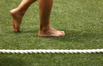 Father Walks Barefoot for 1,200 Miles to Raise Funds for Daughter's Gene Therapy