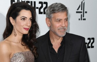 George Clooney Teaches His Twins How to Prank, Wife Amal Says