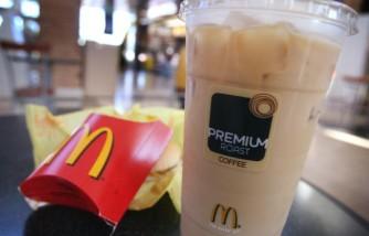 A Glimpse on McDonald's latest menu item.