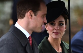 Prince William and Kate Middleton talking about Kensington Palace.