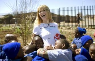 Mischa Barton Save The Children Campaign