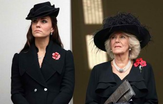 Kate Middleton and Camilla Parker-Bowles