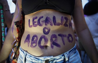 Activists In Brazil March For Women's Rights On International Women's Day