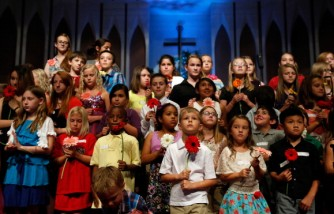 Residents Of Moore, OK Gather For Memorial Service Following Deadly Tornado
