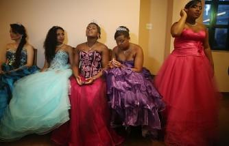 Debutante Ball Held For Rio's Favela Youth