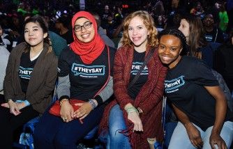 Chicago students come together at WE Day Illinois to celebrate the power young people have to change the world.