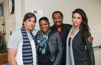Days of Our Lives Makes Donation To The Genesis House Women's Shelter in Detroit