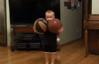 I've never seen a kid do this! Amazing talented little boy.