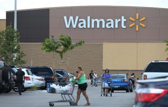 Walmart announced that it would be partnering with online transportation networks Uber and Lyft to improve its grocery delivery service.