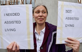 Assisted Suicide Bill Supporters Gather Ahead Of Scottish Debate