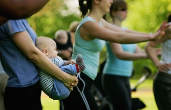 Post Natal Mothers Keep Fit