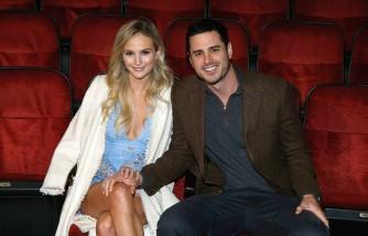 'Bachelor' Ben Higgins And Fiancee Lauren Bushnell Visit 'The Lion King' On Broadway