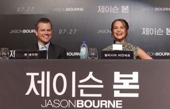 'Jason Bourne' Press Conference In Seoul