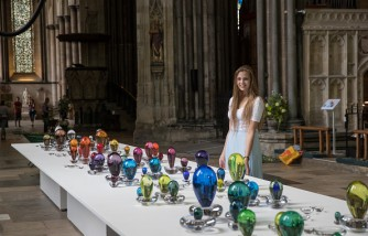 Salisbury Cathedral Hosts 'Reflection: Glass Exhibition'