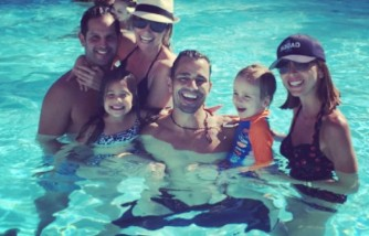 Giuliana and Bill Rancic with friends.
