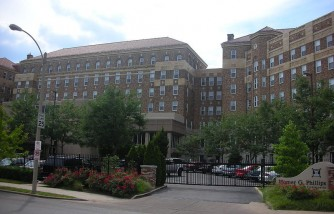 Homer Phillips Hospital St. Louis 2009-Melanie Gilmore and mom, Zella Price, were separated here almost 50 years ago.