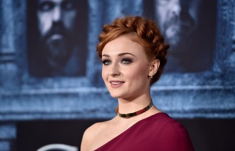 Sophie Turner as Sansa Stark in