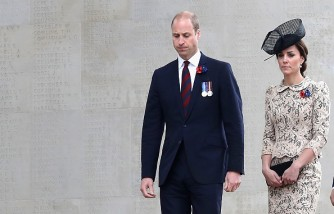 Royal Family Attend The Somme Centenary Commemorations In France
