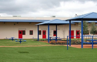 Karnes County, Texas Detention Center's Playground
