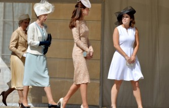 Queen Elizabeth II Holds Garden Party At Buckingham Palace